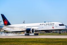 "6,425 Likes, 81 Comments - Air Canada (@aircanada) on Instagram: ""Up, up and away. Our corporate photographer @brianlosito captured our #Boeing 787 #Dreamliner…"""