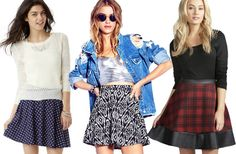 Skater skirts are the way to go