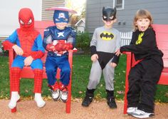 RMHC kids don't need to dress up - they are super hero enough.