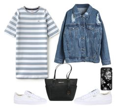 """""""Untitled #33"""" by annaluisescheibe on Polyvore featuring Puma, Lacoste L!VE, WithChic, Casetify and Michael Kors"""