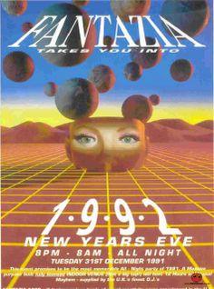 Fantazia - New Years Eve - 31st Dec 1991