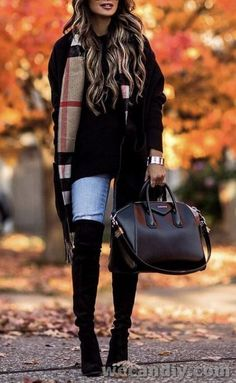 25 Perfectly Ideas Fall Outfits For Women - Fall Outfits 2018, Cute Fall Outfits, Fall Winter Outfits, Autumn Winter Fashion, Casual Outfits, Fashion Outfits, Womens Fashion, Fashion Trends, Fall Fashion