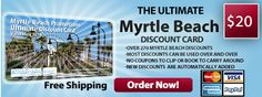 Myrtle Beach Discount Cards - Coupon Savings In The South