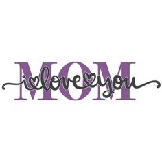 Silhouette Design Store: Mom I Love You Block Out Silhouette Design, Silhouette Studio, I Love You Mom, My Love, Makeup Stencils, Sweet Afton, Free Stencils, Handwriting Fonts, Design Projects