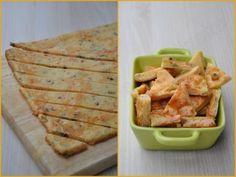 Triangle apéro au saumon fumé, olives et tomates séchées - Dans la cuisine d'Audinette