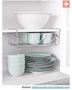 dish cupboard space saver