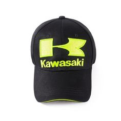 444f6de6572 2018 caps Cool Blue green Motorcycle Racing embroideried kawasaki cap Hat  MOTOGP baseball cap dad hat bone Casquette