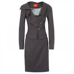 Pinstripe Suits for Women