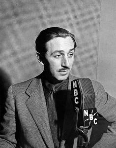 Walt Disney, NBC RADIO, late 30's, I.V.