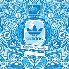 JthreeConcepts x Adidas Originals (DH Editions) by Jared Nickerson, via Behance
