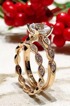 Dazzling Diamond Engagement Rings Of Her Dreams ❤ See more: http://www.weddingforward.com/diamond-engagement-rings/ #weddingforward #bride #bridal #wedding