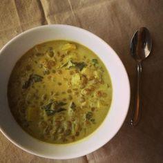 Coconut Lentil Soup / Detox Recipe