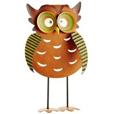 Standing Harvest Owl:  This would go great with the owl tealight holder.  I love this one also!