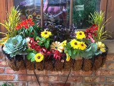 Flowerbox | Visit nkfloraldesign.com for more #nkfloraldesign #flowers