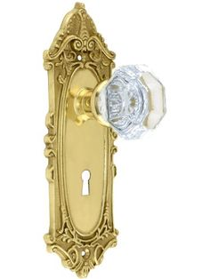 Largo Design Mortise Lock Set With Waldorf Crystal Knobs In Polished Brass. Door Restoration Hardware. Nostalgic Warehouse,http://www.amazon.com/dp/B005TQA9N8/ref=cm_sw_r_pi_dp_rU88sb1XDA5KDERZ