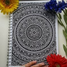 Omg finally donee! ❤ #mandala #mandalas #mandalaart #mandaladrawing #mandalalove #mandalaartist #heymandalas #drawing #draw #drawings #drawingart #zentangle #zentangleart #zentangles #art #artist #blackandwhite #blxckmandalas #selfthaught #merith_mandala #imaginationarts #justartsogram #arts_mag #mandalalovers #loveit #micron
