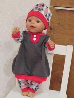 Идея. выкройки НЕТ. Emifee: Outfit für das Puppen-Mädchen