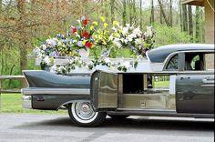 1958 Cadillac Eureka flower car