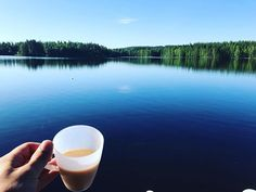 Aamukahvit 😎 #morningcoffee #coffee #kahvi #kahvilla #mökillä #mökki #järvi #lake #finnish #finnishnature #finnishsummer #finnish #summer2017 #summer #kesä #vapaalla #finnishman #finnishboy #sky #skyporn #naturephotography #natural #naturalbeauty #luontokuva #luonto #suomi Natural Beauty from BEAUT.E