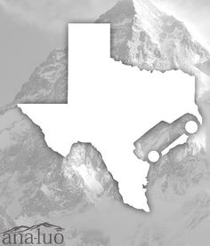 Jeep Wrangler Texas Decal ANY STATE by Analuo on Etsy