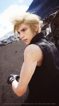 Final Fantasy Xv Prompto, Prompto Argentum, Best Cosplay Ever, Why I Love Him, Fantasy Setting, High Hopes, Fighting Games, I Am Game, One In A Million