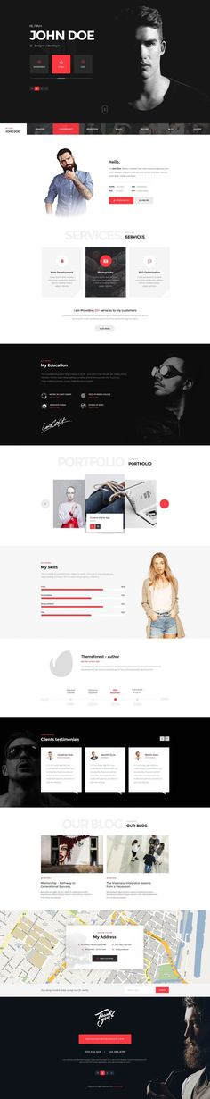 Themenum – Personal Vcard Resume & Cv in Web design