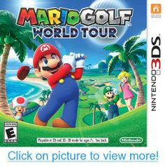Mario Golf World Tour - Golf the Mario way! Explore the Castle club! Master the basics on realistic golf courses. Golf on crazy Mushroom Kingdom courses! Take a swing at themed courses that put a new spin on a familiar sport. (Nintendo only) Nintendo Mario Kart, Nintendo 3ds Games, Nintendo 2ds, Nintendo Switch, Mario 3ds, Nintendo Room, Hama Mario, Nintendo Systems, Nintendo Characters