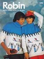 Vintage Ladies Fair Isle knitting patterns available from The Vintage Knitting Lady