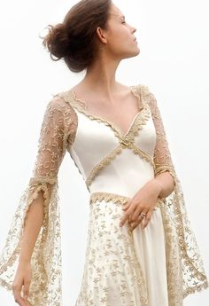 Gilded Lily - Designer Custom Wedding Gowns and Dresses Abaya Designs, Kurti Designs Party Wear, Sleeves Designs For Dresses, Sleeve Designs, Pakistani Dress Design, Pakistani Dresses, Stylish Dresses For Girls, Girls Dresses, Party Wear Maxi Dresses