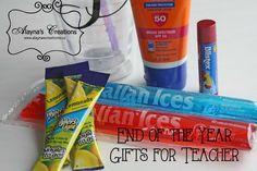 Teacher Gift Idea Summer In a Cup