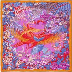 Flamingo Party - Orange, Red and Purple