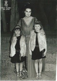 Montse with her brother's two girls