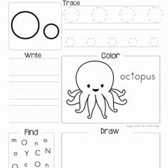 Letter of the week printable