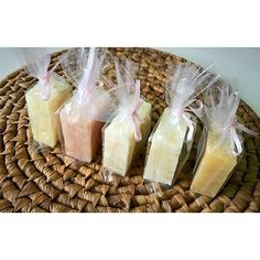 HANDMADE MINI SOAP SAMPLES SET OF 5 NATURAL SOAP BARS SOAP SAMPLER GRAB BAG Soap Samples - Soap Sampler - Pick 5 mini soaps - Soap Pieces - Soap Assortment - Soap Variety Pack - Soap Grab Bag - Camping Soap - Soap Sample Pack  This listing is for Set of 5 natural homemade mini soaps.  All mini soap samples are individually packed and labeled. Weight of 5 is between 11-12 oz.