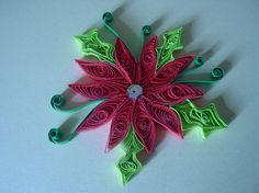 Quilled Flowers, Quilling, Quills