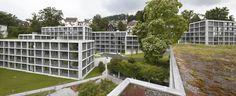Student Apartments in Luzern  / Durisch + Nolli Architetti