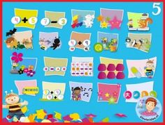 Heel veel educatieve spellen voor kleuters op digibord of computer, kleuteridee / Kindergarten educative games online for IBW or computer