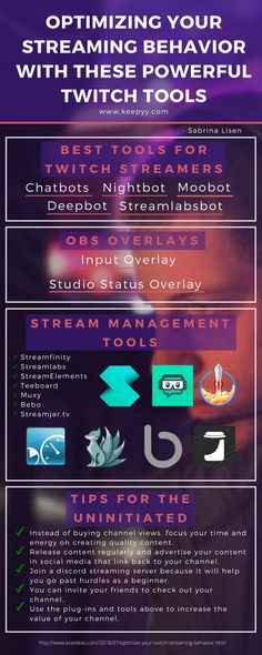 Optimize Your Streaming Behavior With These Powerful Twitch Tools Optimize Your Streaming Behavior With These Powerful Twitch Tools Infographic Twitch Streaming Setup, Game Streaming, Diy Desktop, Twitch Channel, Social Media Marketing Business, Writing Challenge, Computer Technology, Streamers, Behavior