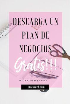 Free Business Plan, Writing A Business Plan, Business Planning, Business Tips, Business Women, Creating A Business, The Marketing, Online Marketing, Digital Marketing