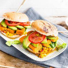 Avocado-Fisch-Burger