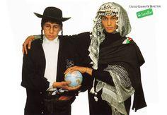 Benetton – Les années Toscani | Pub en stock