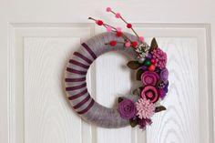 lucellodesign: Ev için Kapı Süsleri, door wreaths