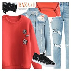 """Pumpking spice"" by vanjazivadinovic ❤ liked on Polyvore featuring GRLFRND, CÉLINE and Topshop"