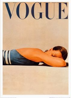 Vogue cover 1947 by Irvin Penn