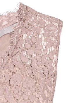 Vestido em renda decote em V - Rosa claro - SENHORA | H&M PT