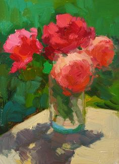 Small Bouquet | Kathryn Townsend Painting Studio