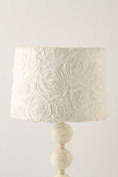 lampshade #diy #rosettes