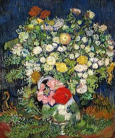 Bouquet - 1890  by: Vincent van Gogh