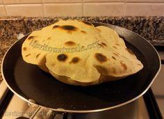 Pane Chapati con Farina Macinata a Pietra