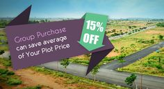 Hurry Up! Only Few Plots Available for #GroupPurchase! Opportunity to live, invest and grow  www.bookmyplots.com Call us at :- 098445 75001